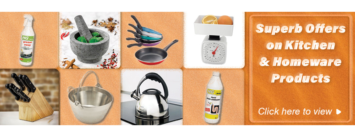 Superb offers on kitchen and homeware products