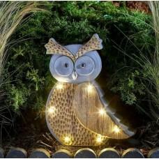 Woodstone In-Lit Owl