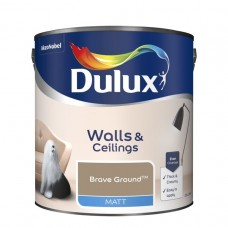 Dulux Matt Emulsion Brave Ground 2.5Ltr