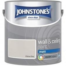 Johnstone's China Clay Matt 2.5L