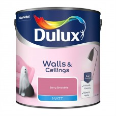 Dulux Matt Emulsion Berry Smoothie 2.5Ltr