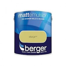 Berger Olive Jar Matt Emulsion 2.5ltr