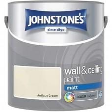 Johnstone's Antique Cream Matt 2.5L