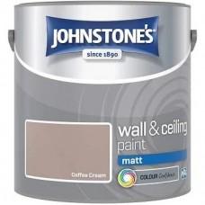 Johnstone's Coffee Cream Matt 2.5L