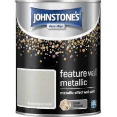 Johnstone's Champagne Gold Metallic 1.25L