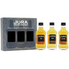 Isle of Jura Gift Pack 3x5cl Miniatures