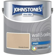 Johnstone's Brandy Cream Matt 2.5L
