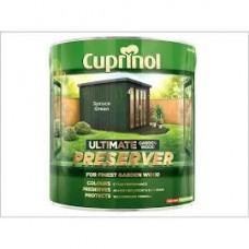 Cuprinol Wood Preserver spruce Green 4L