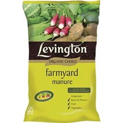 Lev Organic Farmyard Manure 40Ltr
