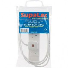2m 4 Gang 13 Amp Extension Lead