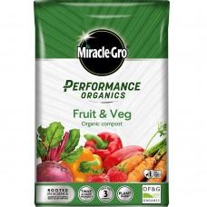 M-GRO Organic Fruit & Vegetable Compost 40Ltr