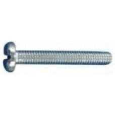 Pack of 12 M4x25 SLOT PAN MACHINE SCREW STAINLESS STEEL
