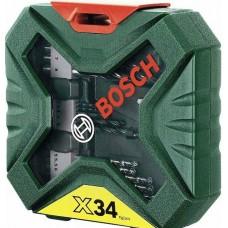 BOSCH 34 Piece Drill & Accessory Set
