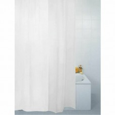 Shower Curtain Polyester White