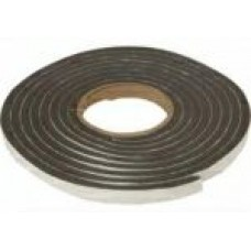 5Mtr x 7mm Foam Draught Strip Brown