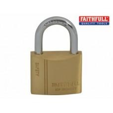 Brass Padlock 40mm
