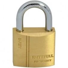 Brass Padlock 30mm 3 Keys