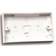 2 Gang Socket Patress Box 25mm Depth