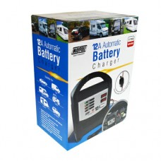 12A 12/24V LED Automatic Battery Charger