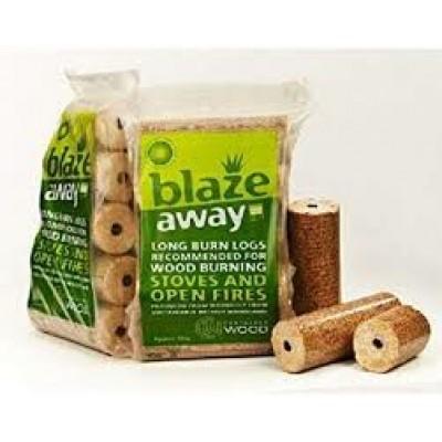 Blazeaway Heat Logs Pack x 5
