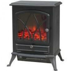 Electric Stove Led Log Flame Effect 2 Heat Settings