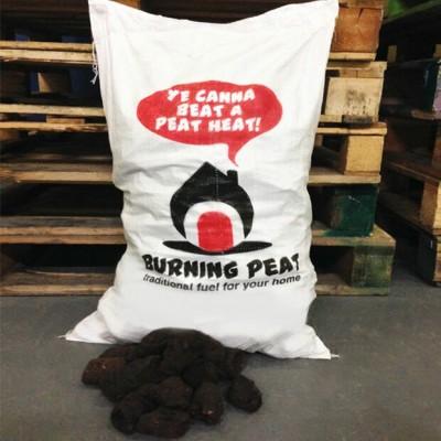 Burning Peat 20kg Bag