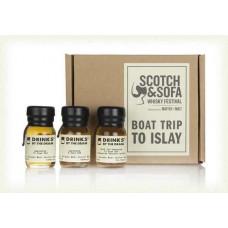 DBTD Boat Trip to Islay Tasting Set 9cl