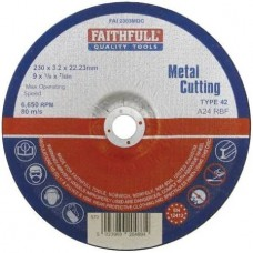 Cut Off Disc for Metal Depressed Centre 230mm x 3.2mm x 22mm
