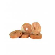 Cedarwood Clothes Moth Repeller Rings Pack of 12