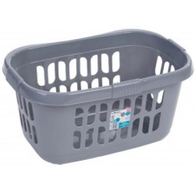 Loundry Basket Silver