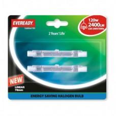 Eveready Linear Energy Saving Halogen 120W B2
