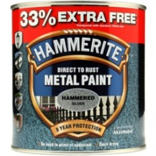 750ml Hammered Silver