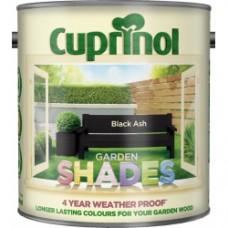 Garden Shades Black Ash 2.5Ltr