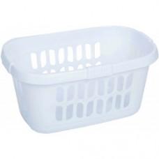 Loundry Basket Ice White