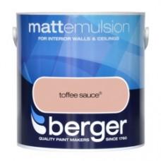 Berger Emulsion Matt Toffee Sauce 2.5Ltr