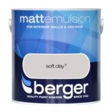 Berger Emulsion Matt Soft Clay 2.5Ltr