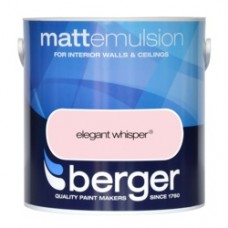 Berger Emulsion Matt Elegant Whisper 2.5Ltr