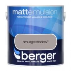 Berger Emulsion Matt Smudge Shadow 2.5Ltr