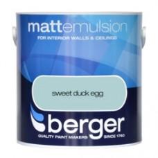 Berger Emulsion Matt Sweet Duck Egg 2.5Ltr