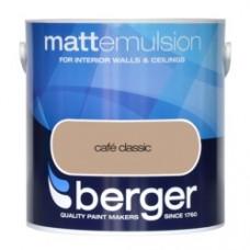 Berger Emulsion Matt Cafe Classic 2.5Ltr
