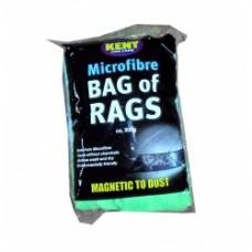 500g Microfibre Bag Of Rags