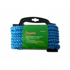 Polypropylene Rope Blue 10mm x 10m