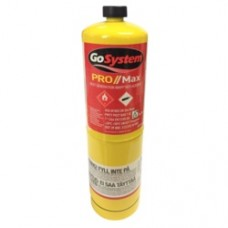 FAIGZMAPP 400G MAPP GAS CYLINDER CGA600 FITTING