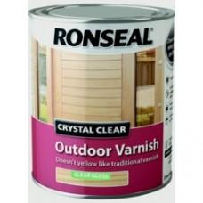 Exterior Varnish Clear Matt 750ML
