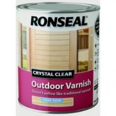 Exterior Varnish Clear Satin 750ML
