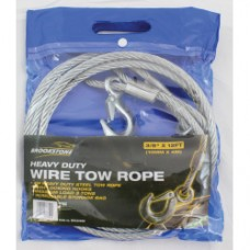 Brookstone Touring Wire Tow Rope (3/8IN X 12 FT)
