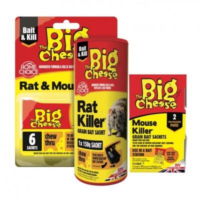 Big Cheese Rat Killer Grain Bait Sachet