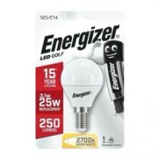 Energizer E14 Warm White Blister Pack Golf 3.4w