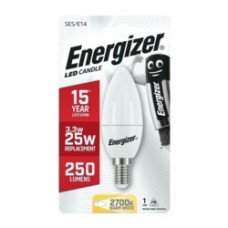 Energizer E14 Warm White Blister Pack Candle 3.4w