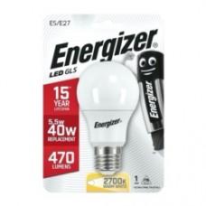 Energizer E27 Warm White Blister Pack Gls 5.6w